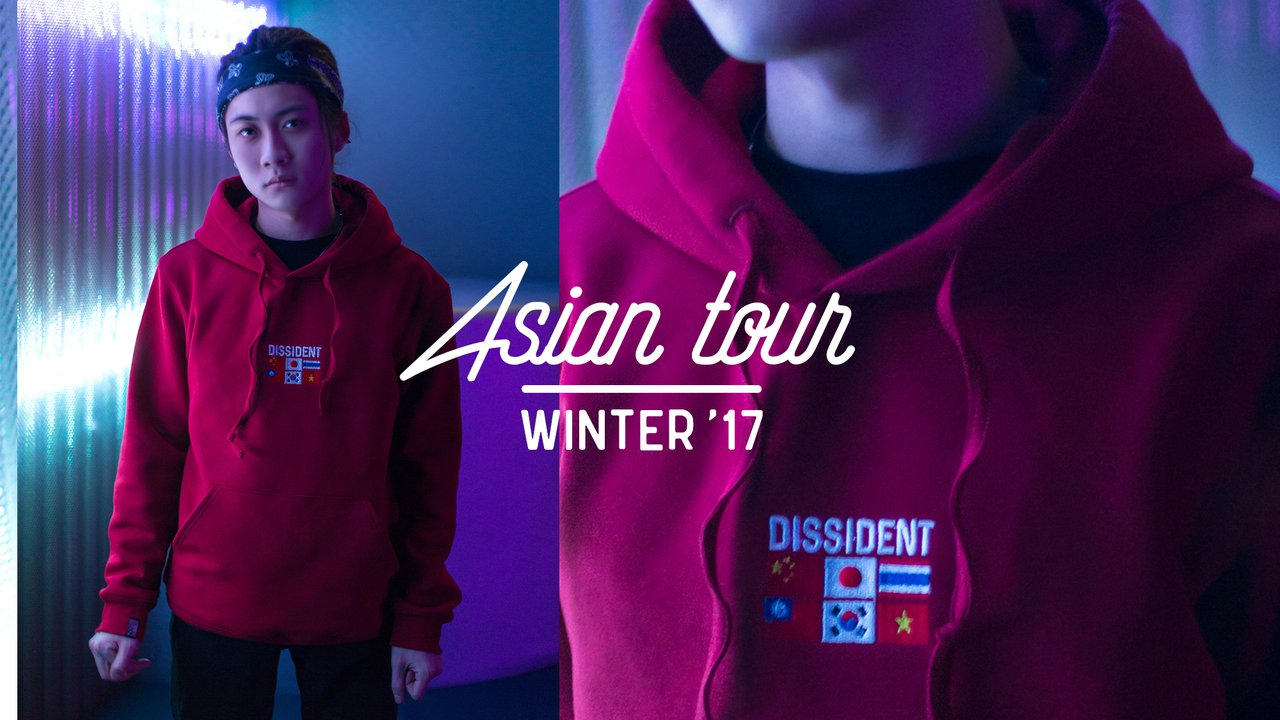 "Preview image of FW 16-17 DROP II ""ASIAN TOUR"""